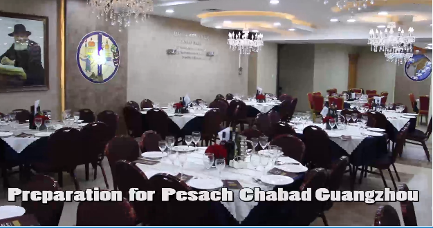 Preparations for Pesach Chabad of Guangzhou